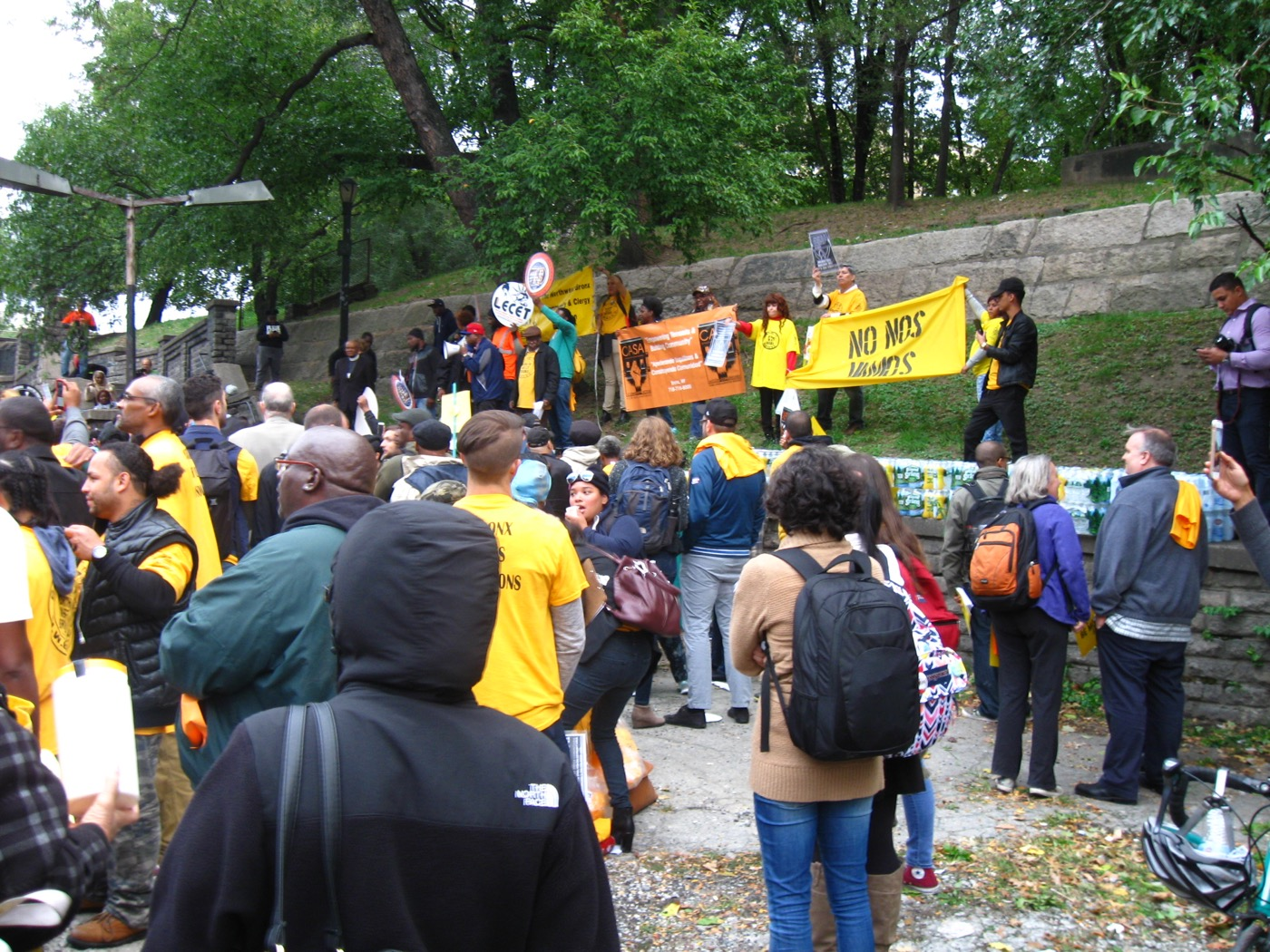 The protests at the scoping meeting planning to rezone Jerome Avenue in the Bronx