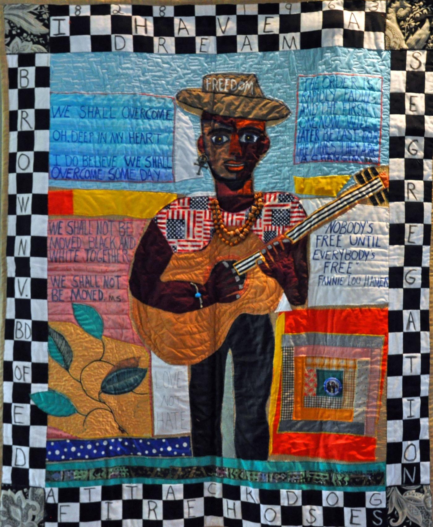 """Michael Cummings """"Freedom"""" (2013) mixed media"""