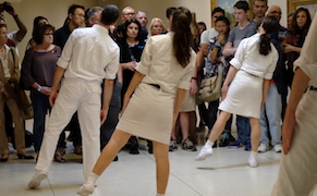 Public Movement: Choreographies of Power perform at the Solomon R. Guggenheim 1071 5th Ave, New York, NY  on Saturday, September 24, 2016  Photography by: Enid Alvarez