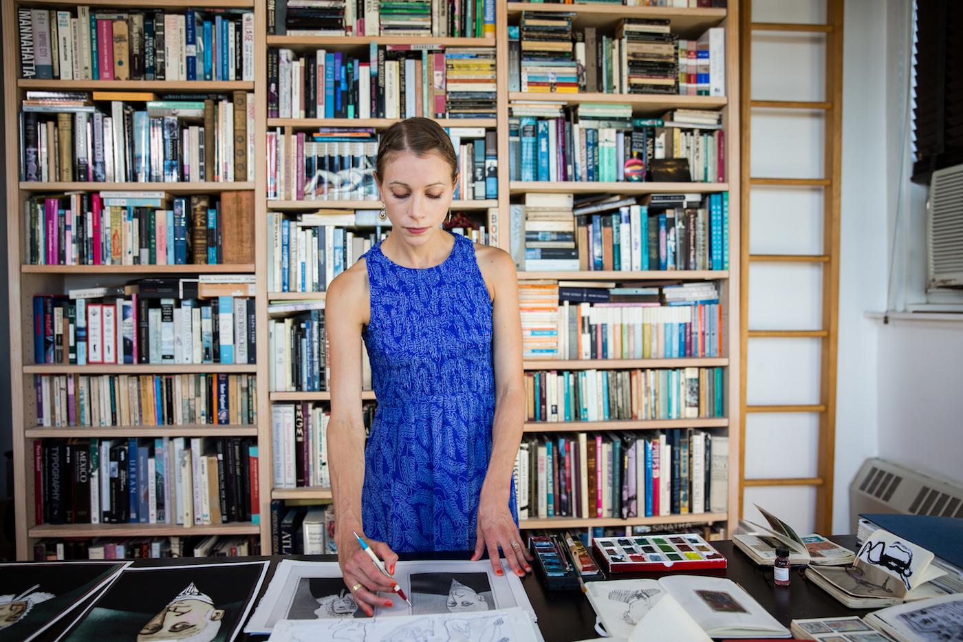 Lauren Redniss, 2016 MacArthur Fellow, New York, New York, September 16, 2016