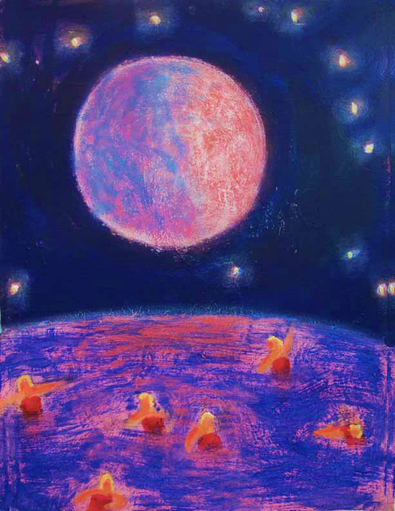 Beer with a painter katherine bradford for Outer space 2016