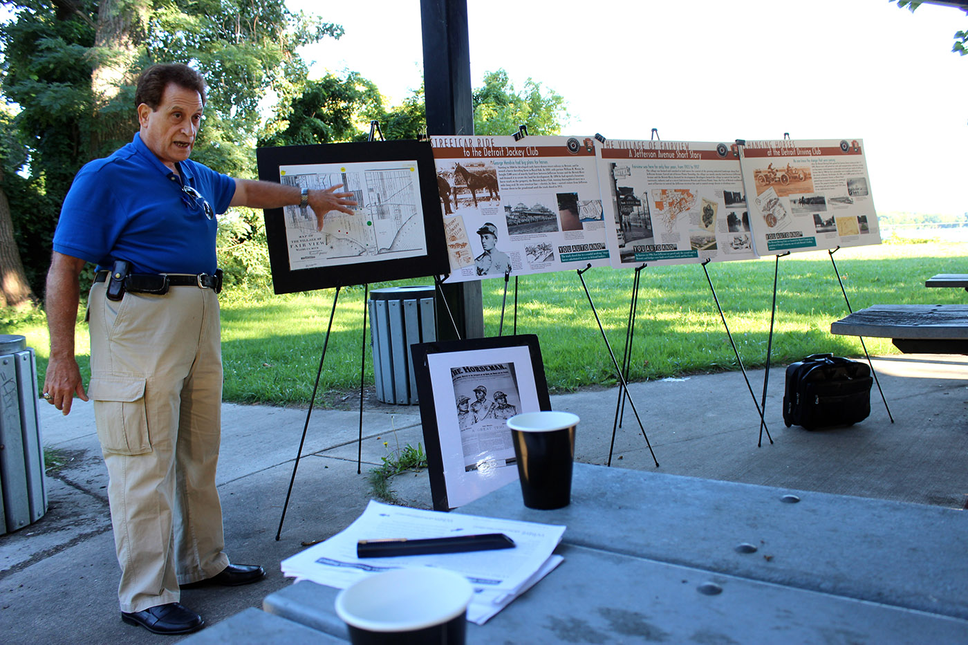 Local historian Nick Sinacori holds forth on historical fact and errata.