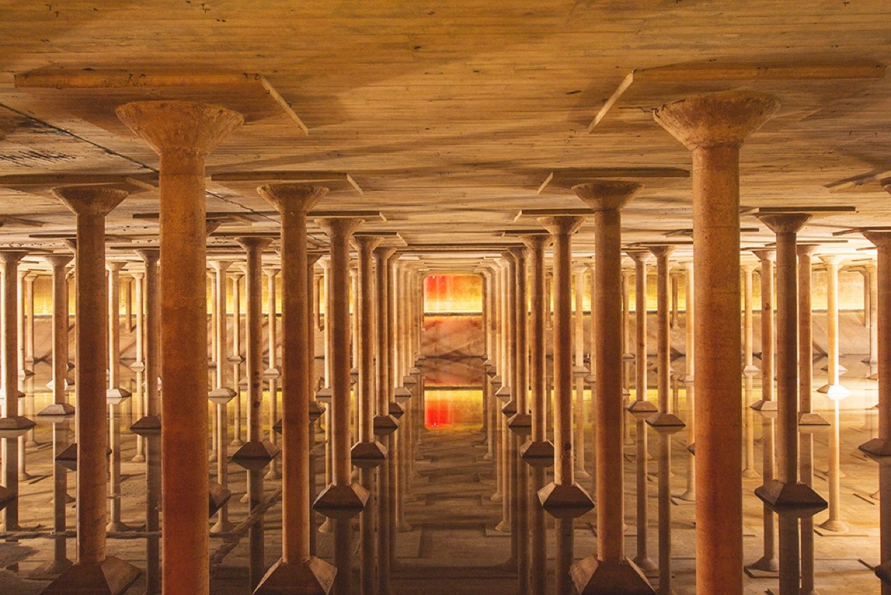The Buffalo Bayou Park Cistern (photo by Roshan Moayed)
