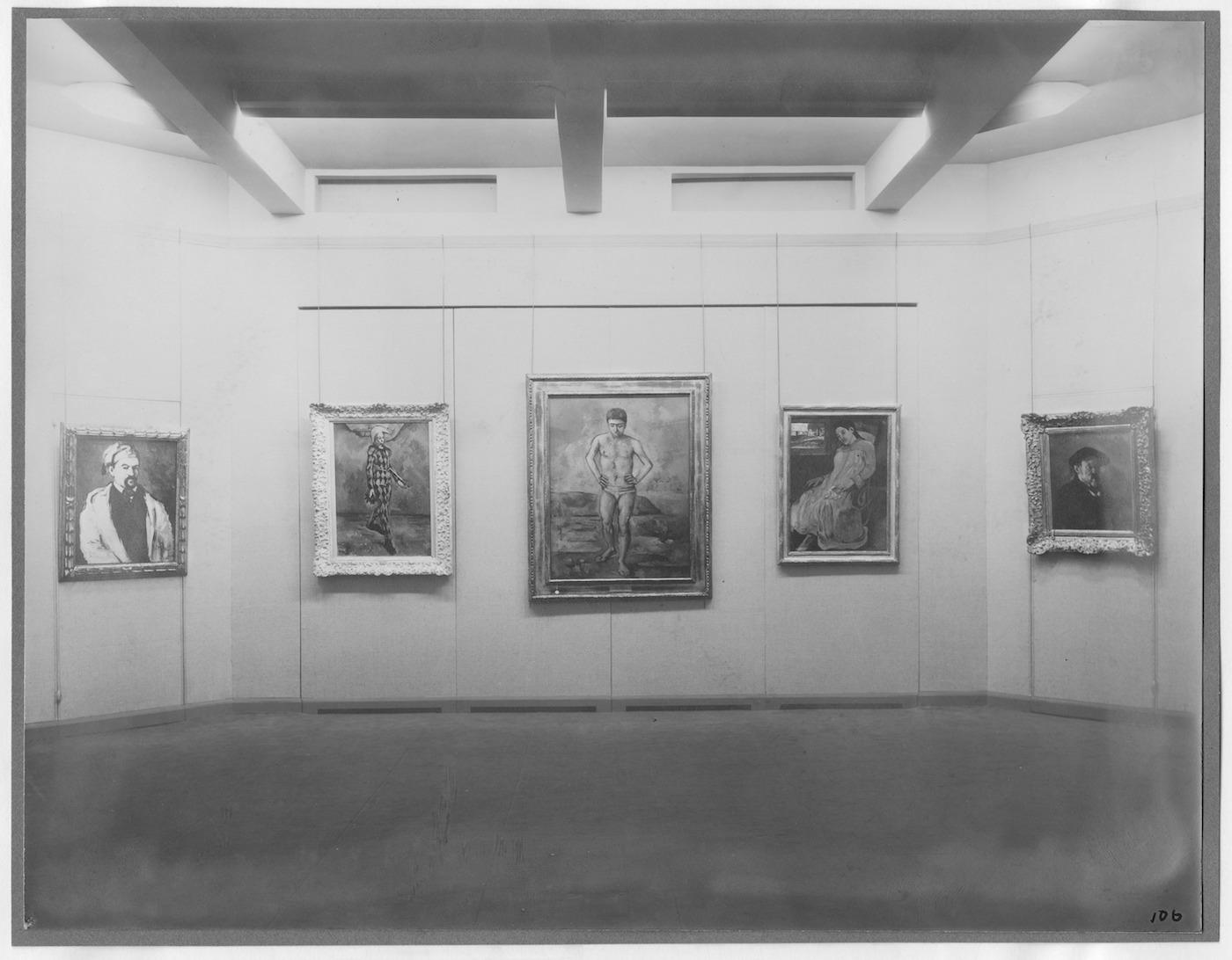 IN1 Cezanne, Gauguin, Seurat, Van Gogh, November 7, 1929-December 7, 1929