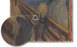 """Post image for Science Proves a Bird Didn't Shit on Edvard Munch's """"The Scream"""""""