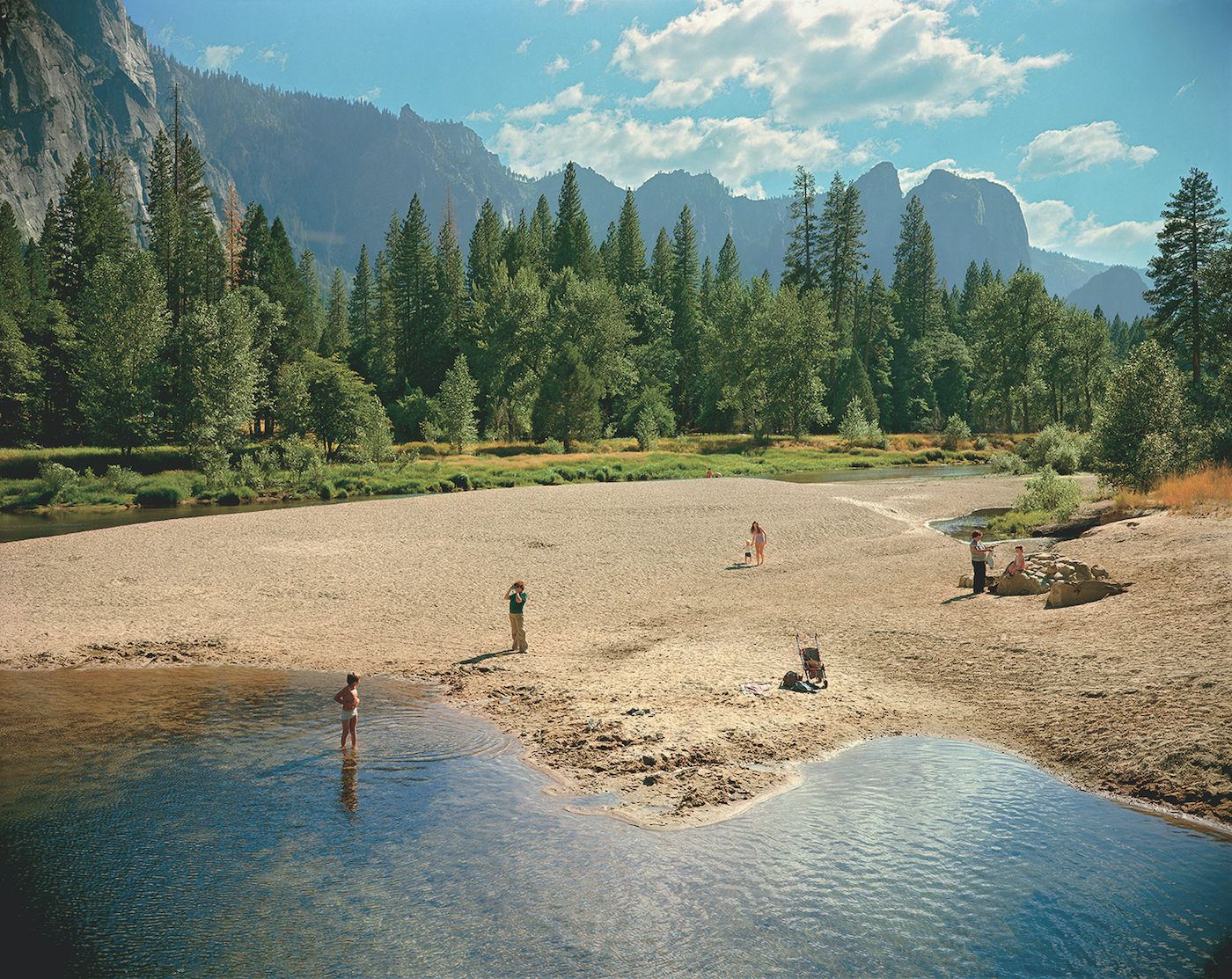 "Stephen Shore, ""Merced River, Yosemite, National Park, California"" (August 13, 1979) (© Stephen Shore, Courtesy of 303 Gallery, New York)"