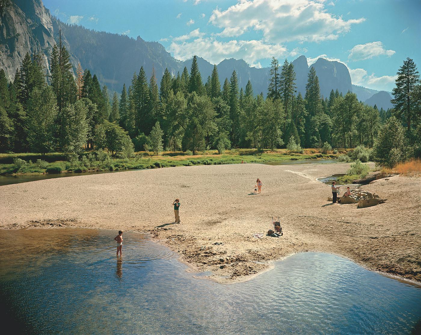 "Stephen Shore, ""Merced River, Yosemite, National Park, California"" (August 13, 1979) (© Stephen Shore, Courtesy of 303 Gallery, New York)"