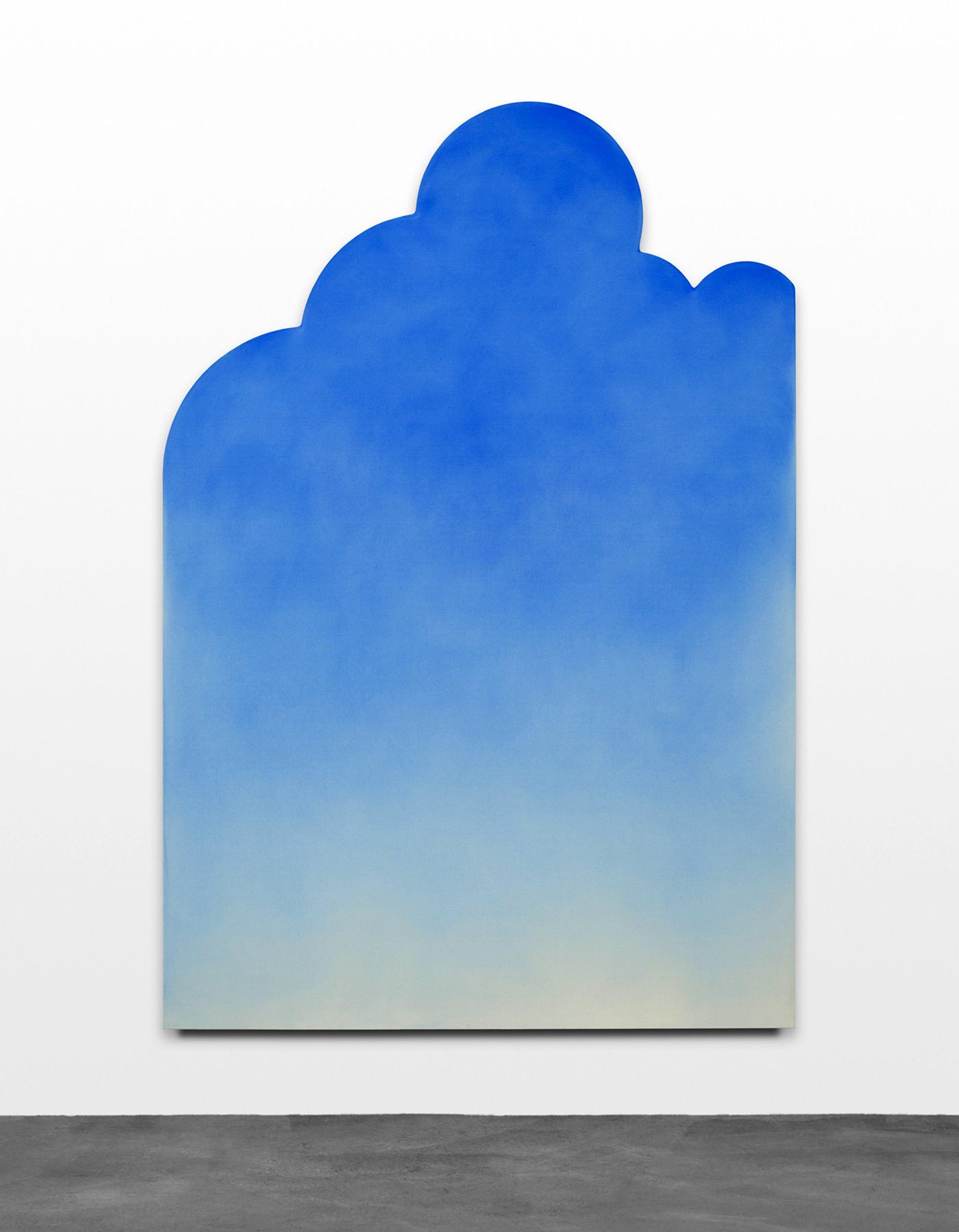 "Ugo Rondinone, ""fünfundzwanzigsterjunizweitausendundfünfzehn"" (2015), acrylic on canvas (courtesy Sadie Coles HQ, London; © Ugo Rondinone)"