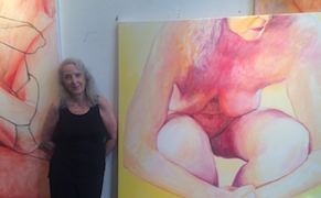 """Post image for """"You Have to Get Past the Fear"""": Joan Semmel on Painting Her Aging, Nude Body"""
