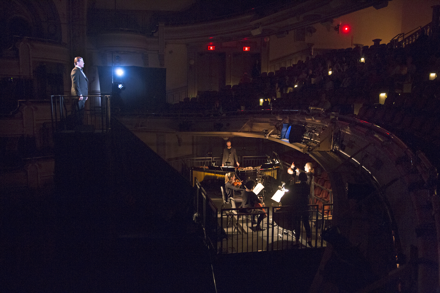 'The Loser' by David Lang (photo by Richard Termine, courtesy Brooklyn Academy of Music)