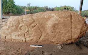 Post image for Centuries-Old Crocodile Stone Discovered in Mexico