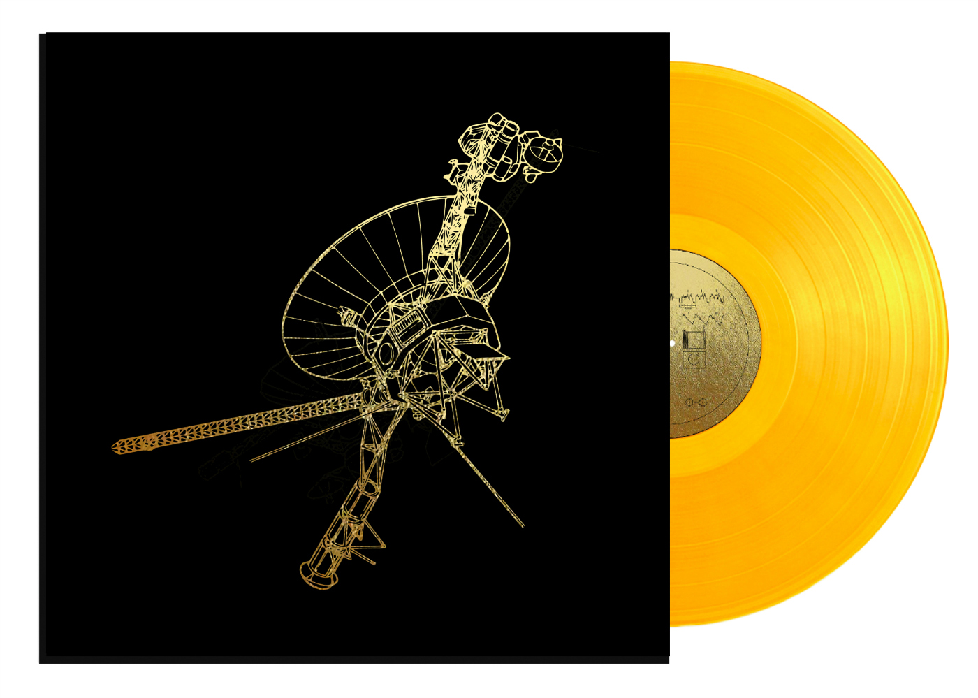 """Mock-up for the """"Voyager Golden Record: 40th Anniversary Edition"""" (courtesy Lawrence Azerrad/Ozma Records)"""
