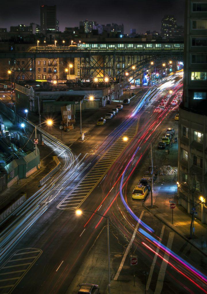 Harlem Nights, 135 Street from Henry Hudson (photo by Jason Jenkins, flickr.com/jdub1980)