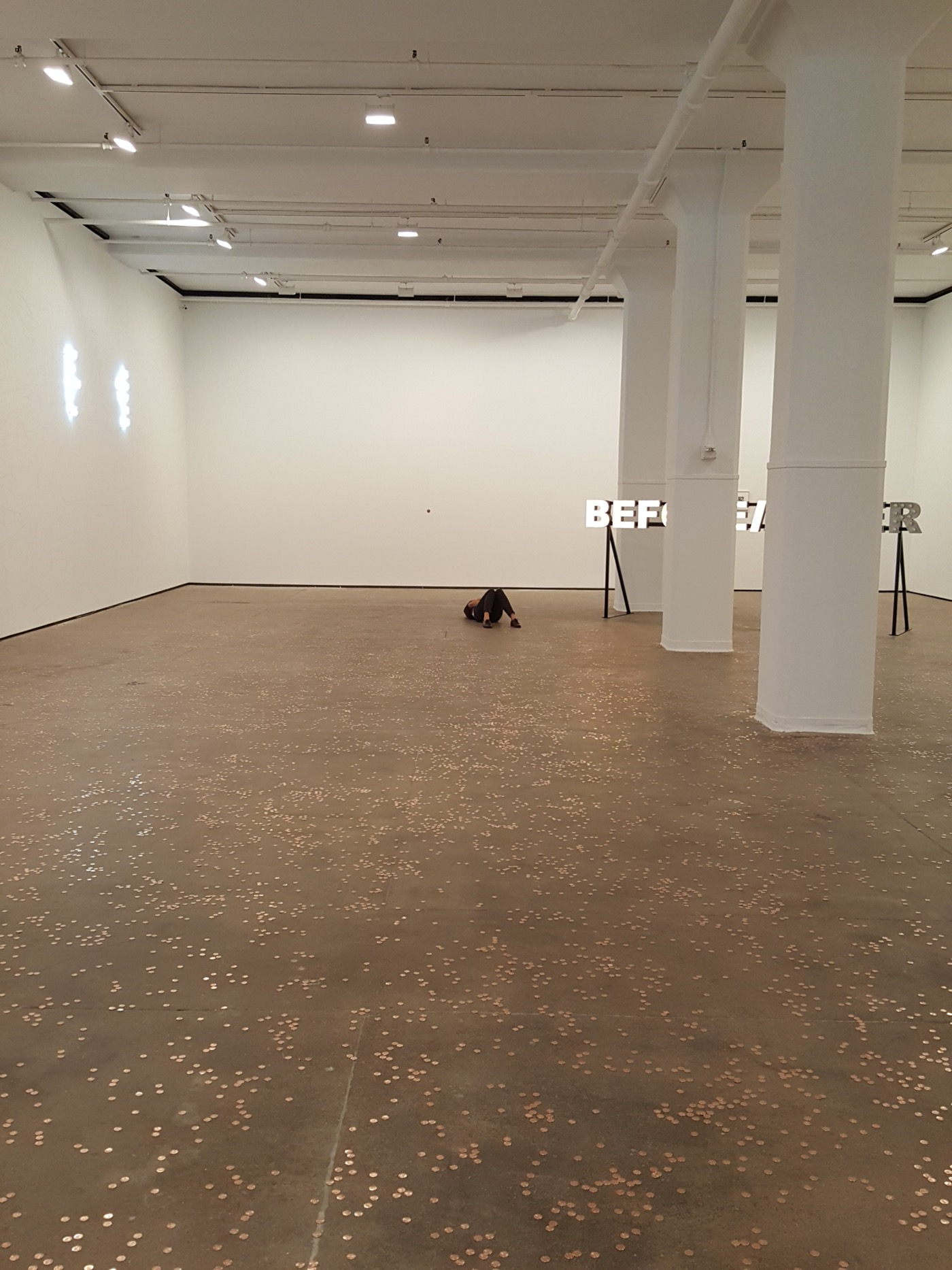 """Peter Liversidge, """"Proposals for the exhibition Twofold at the Sean Kelly Gallery"""" (2016) © Peter Liversidge (all photos unless otherwise noted, courtesy of Sean Kelly, New York)"""