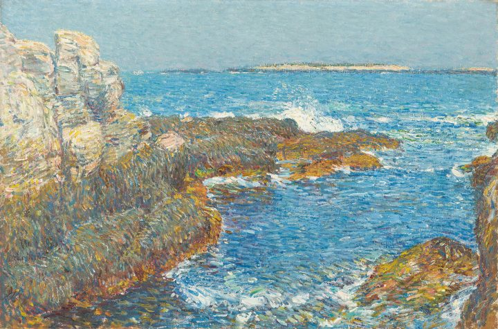"""Childe Hassam. """"Isles of Shoals"""" (1907), oil on canvas, North Carolina Museum of Art, Raleigh, promised gift of Ann and Jim Goodnight"""