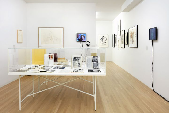 Installation view, 'Douglas Crimp: Before Pictures, New York City 1967-1977' at Galerie Buchholz, New York, 2016 (all photos by Thomas Müller, courtesy Galerie Buchholz Berlin/Cologne/New York.)