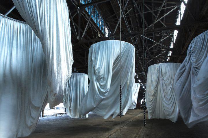 Ann Hamilton, 'habitus' (2016), installation view at Municipal Pier 9 (photo by Thibault Jeanson)