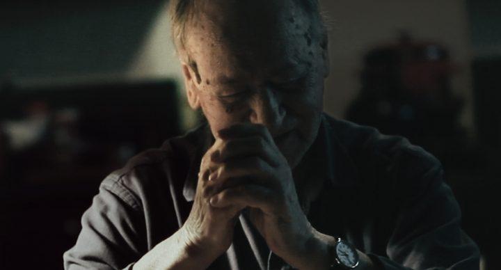 Jonas Mekas in Douglas Gordon's 'I Had Nowhere to Go' (2016) (all images courtesy the artist)