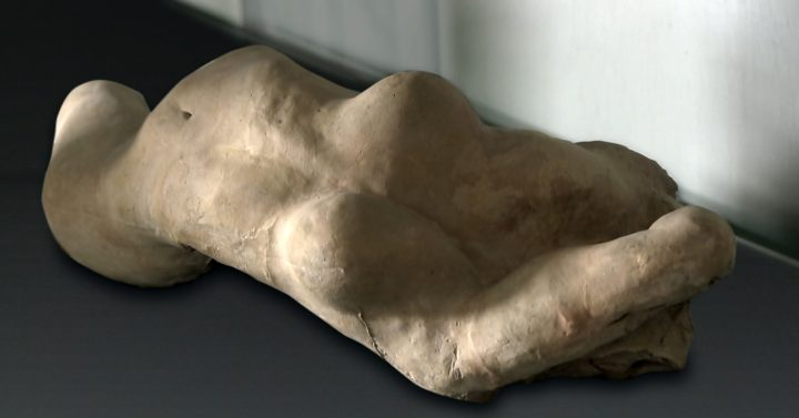 An Auguste Rodin sculpture that served as inspiration for Anna Halprin's choreography