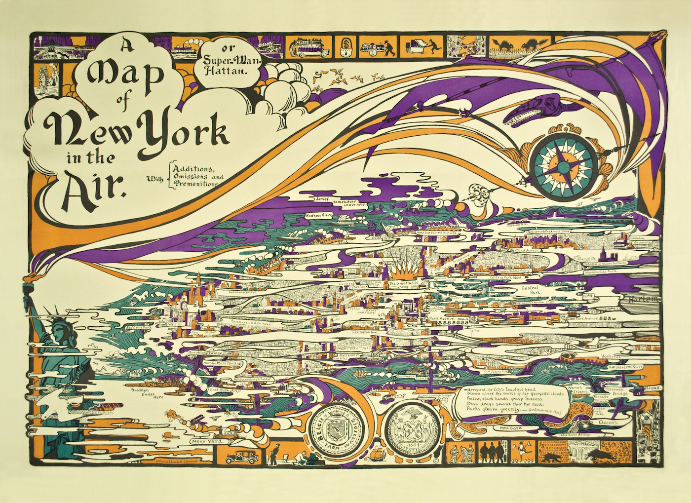 Years Of Artists Maps Of New York City - Nyc map the homeless