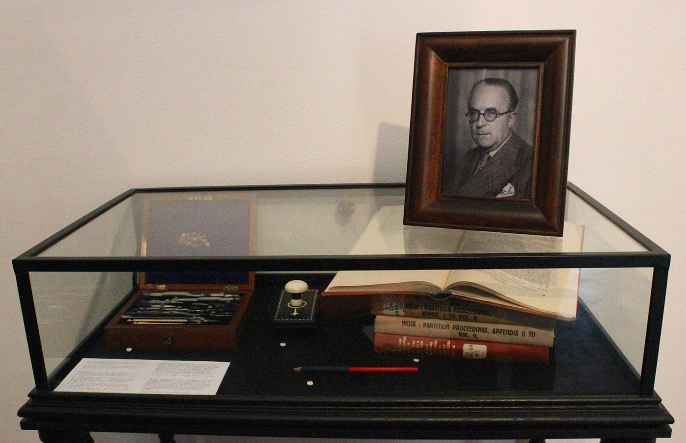 """""""Instruments of Partition"""" - Sir Cyril Radcliffe and the tools that divided a nation."""