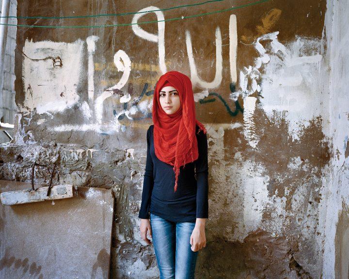 "Rania Matar, ""Samira 15, Bourj El Barajneh Refugee Camp, Beirut Lebanon"" (2011) (all images courtesy the artist and C. Grimaldis Gallery)"