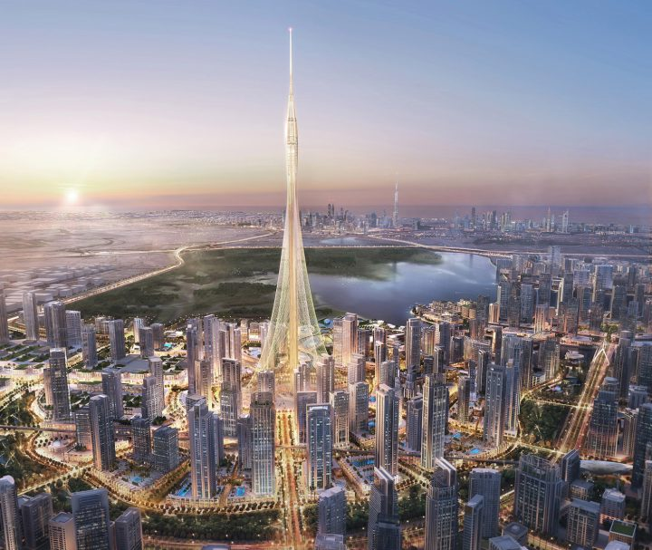 """Santiago Calatrava designed a new tower being built in Dubai, and while he hasn't revealed the height of the tower yet, his son that the structure will be """"a notch taller"""" than the nearby Burj Khalifa. Whoa! (via Dezeen)"""