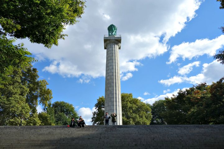 Fort Greene Park, Brooklyn (photo by the author for Hyperallergic)