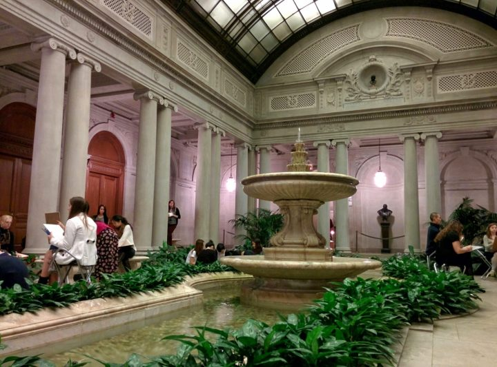 The Garden Court at the Frick Collection (photo by cubby_t_bear/Flickr)