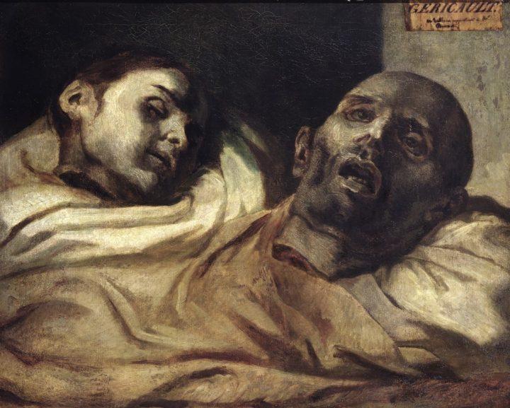 """Théodore Géricault, """"Têtes coupées"""" (1818-19), oil on canvas (via Nationalmuseum/Wikimedia)"""