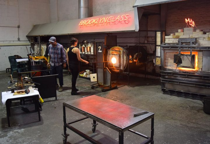Brooklyn Glass during Gowanus Open Studios 2015
