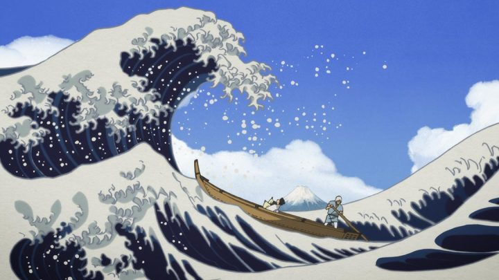 A still from Miss Hokusai