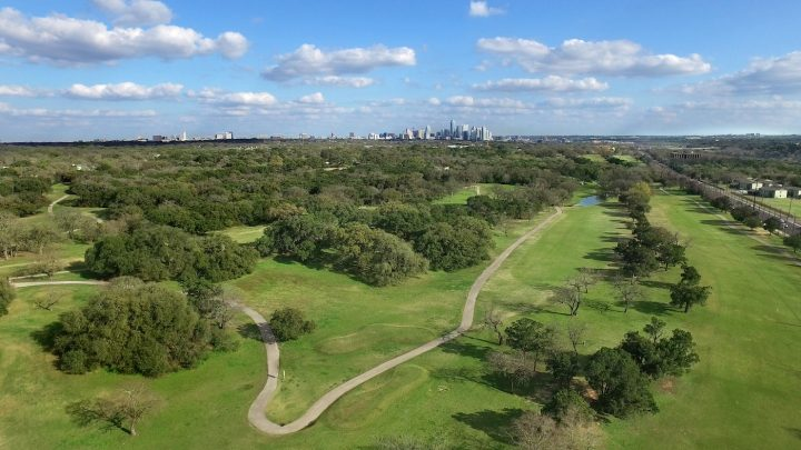 Lions Municipal Golf Course, Austin, Texas. (courtesy Save Muny)