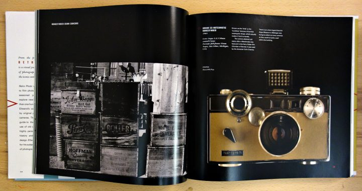 Pages from 'Retro Photo: An Obsession' (photo of the book for Hyperallergic)