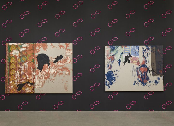 Installation view of 'Shezad Dawood: Kalimpong' at Timothy Taylor (all images © Shezad Dawood, courtesy Timothy Taylor)