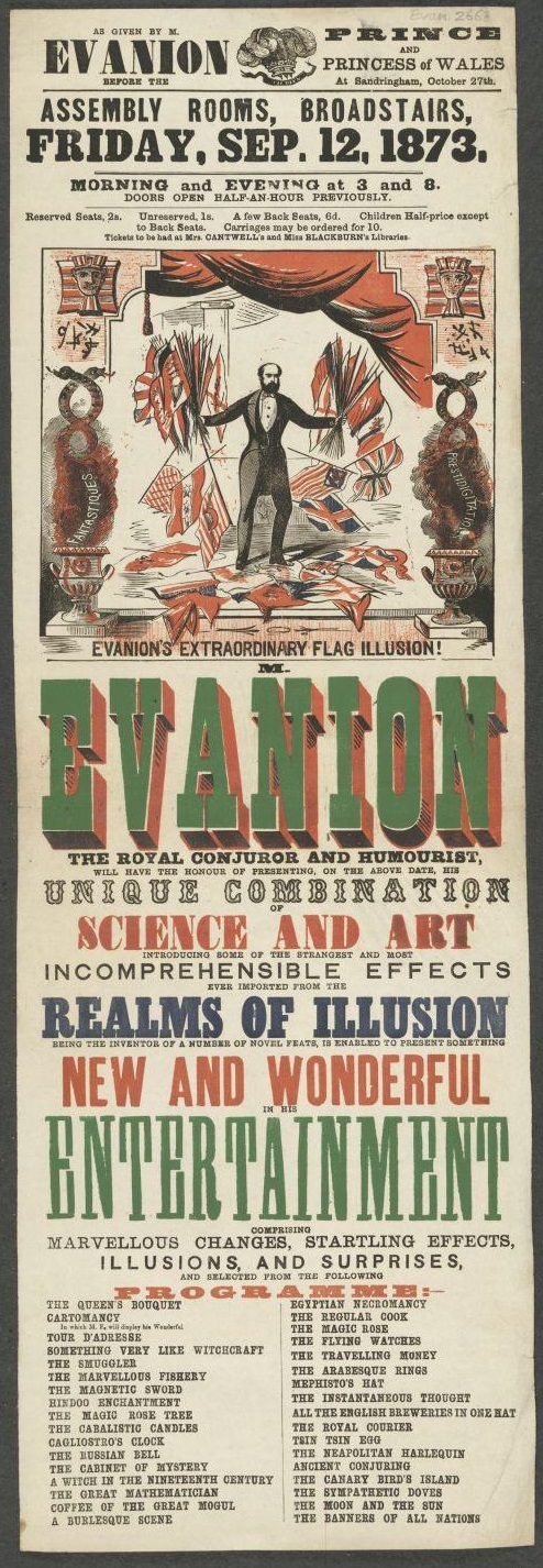 Victorian Entertainments: There Will Be Fun