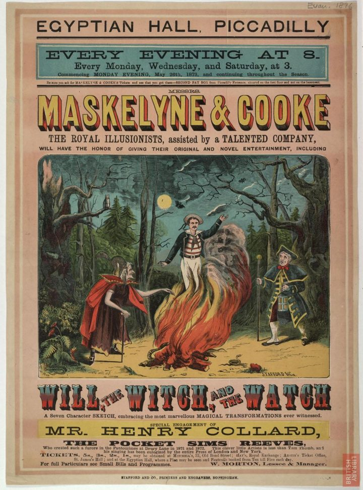 Maskelyne & Cooke's entertainment at the Egypital Hall, 1873