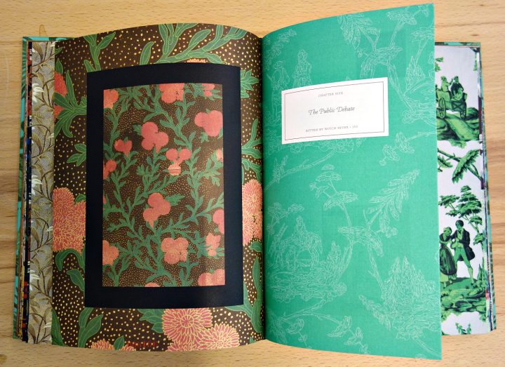 Pages from 'Bitten by Witch Fever' (photo of the book for Hyperallergic)