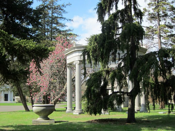 Woodlawn Cemetery (photo by the author for Hyperallergic)