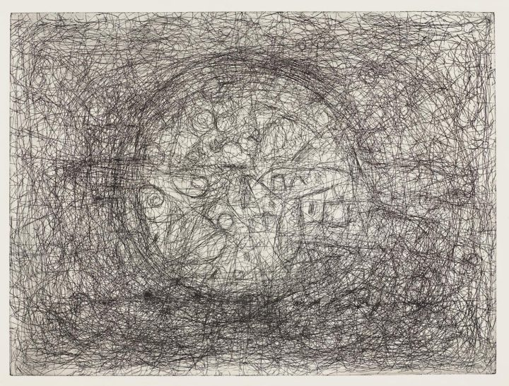 An Abstract Expressionist Master of Etching