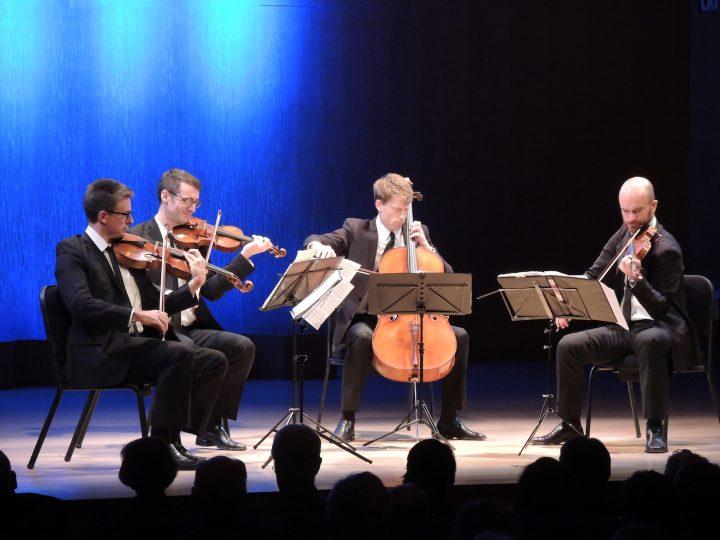 The Calder Quartet (courtesy of MetLiveArts)