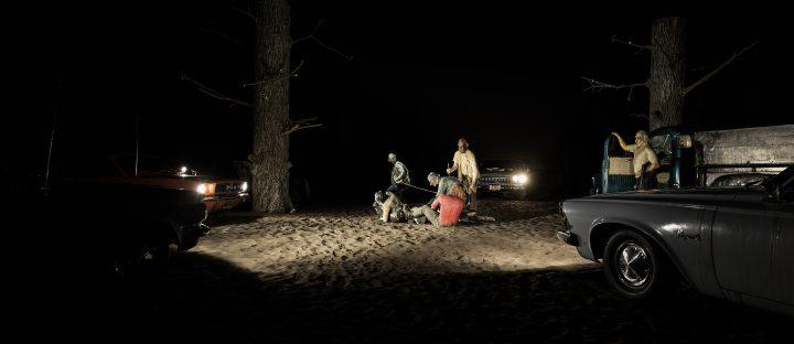 Kienholz: Five Car Stud View of the exhibition curated by Germano Celant 19 May– 31 December 2016 Fondazione Prada, Milan Photo Delfino Sisto Legnani Studio Courtesy Fondazione Prada Edward Kienholz Five Car Stud, 1969–72