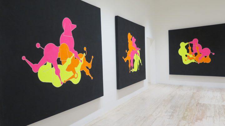 "General Idea, ""Modo Cane Kama Sutra"" (1984), set of 10 paintings"