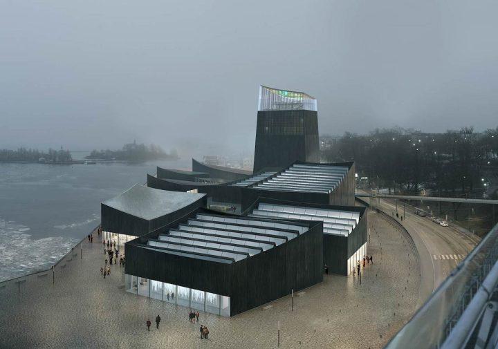 "Moreau Kusunoki Architectes, ""Art in the City,"" the winning proposal for the Guggenheim Helsiniki Competition (© Moreau Kusunoki Architectes / Guggenheim)"