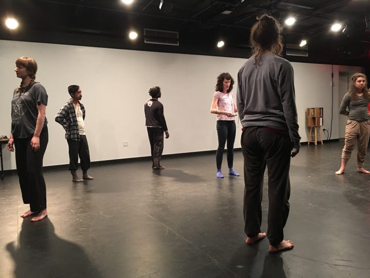 Cast members of the Commons Choir during a rehearsal of 'BROOKLYN REZOUND' at BRIC