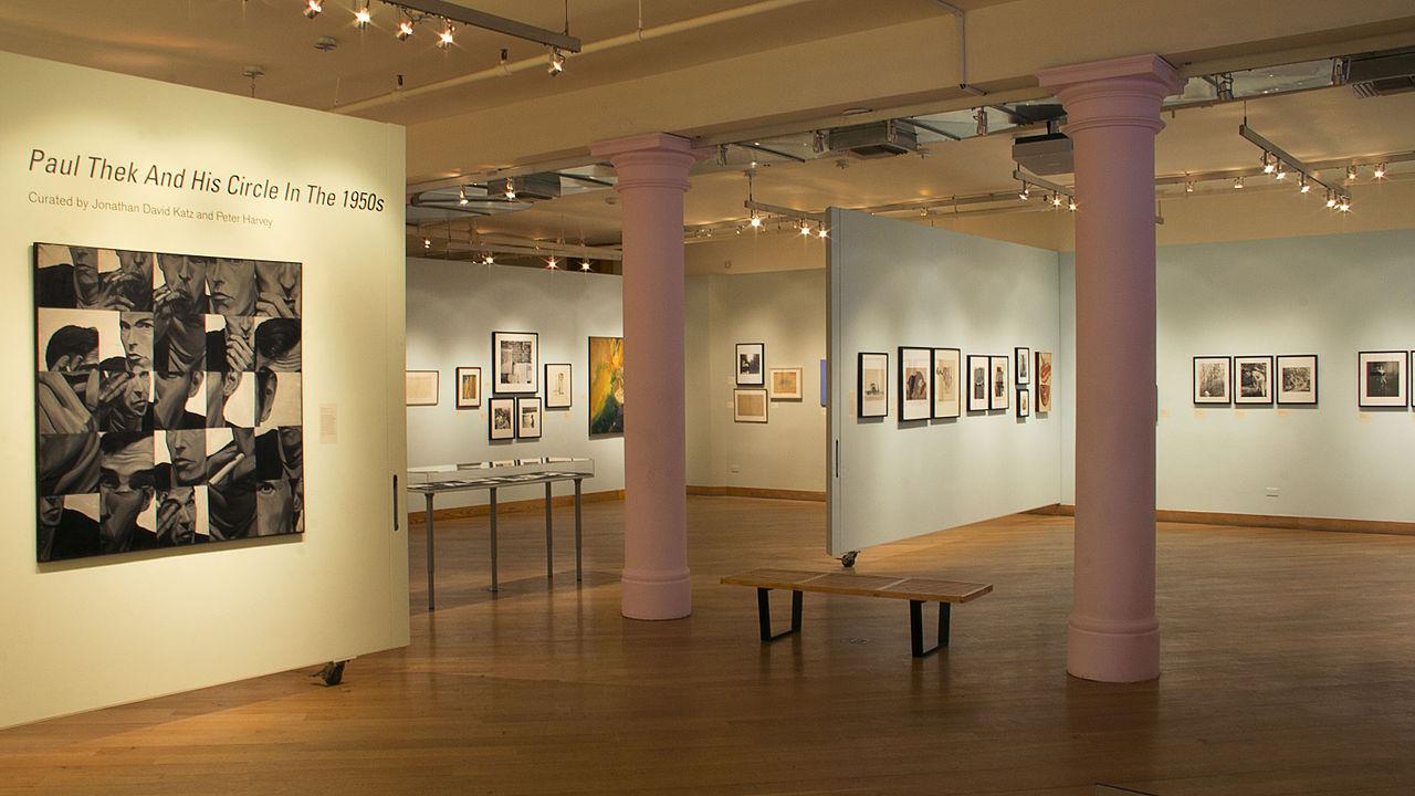 nterior of the Leslie Lohman Museum Paul Thek Exhibition