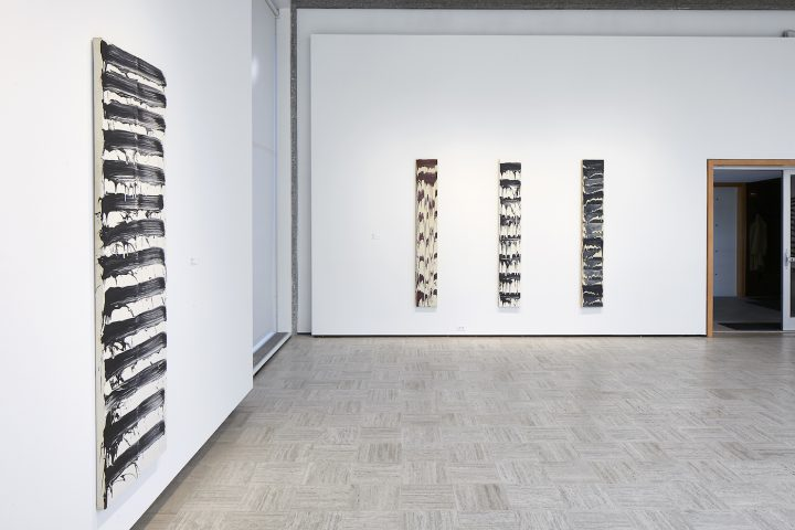 """David Reed, """"Painting Paintings,"""" installation view"""
