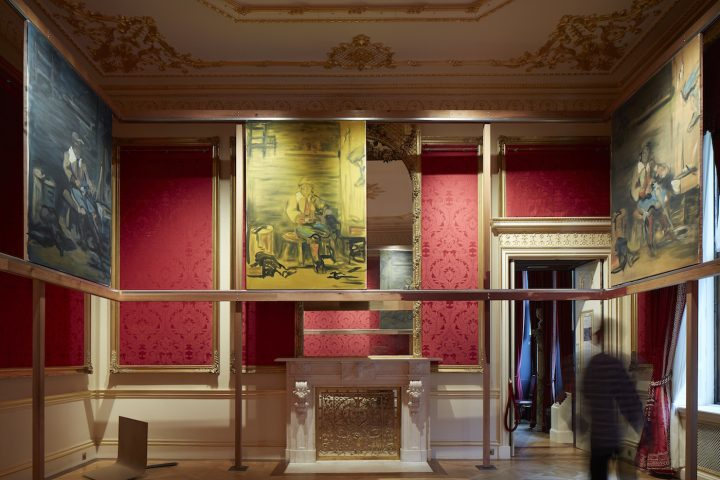 """Tom Ellis, """"The Middle,"""" installation view (all images courtesy of the Wallace Collection (c) Rob Murray)"""