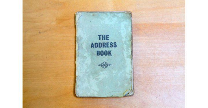 Bob Damron's original 1965 address book. (Courtesy the ONE National Gay and Lesbian Archives, 2016, via samuelfreeman.com)