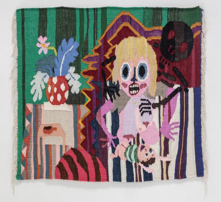 Tapestry by Christina Forrer (via gricebench.com)